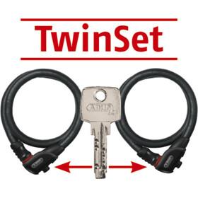 ABUS Phantom 8960/85 TwinSet Cable Lock with TexKF Mounting